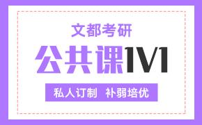 推荐课程-公共课1V1